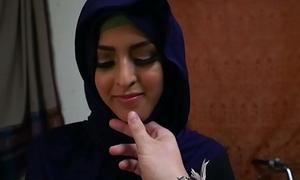 Arabic hijab amateur doggystyled voucher bj