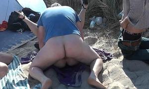 Slutwife Marion bareback gangbang indolent back Summer 2016