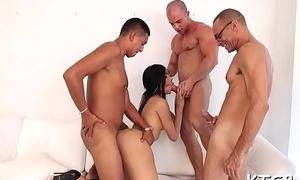 Shemale enjoys butt pounding