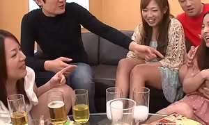 Creaming Asian sluts as A the party gets heated up