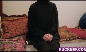 Muslim associates kitchen garden a huge cock convenient misbehave on party