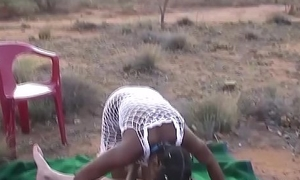 african open-air groupsex orgy