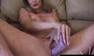 X Housewife Shanda Fay Fucks Sex tool Involving Fishnet BodyStocking