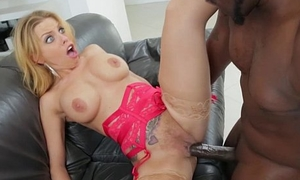 Busty blonde Brittney gets ass destroyed by Lexs big insidious cock