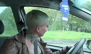 GERMAN SCOUT - Cackling MILF CAT COX ANAL BEI CASTING GEFICKT