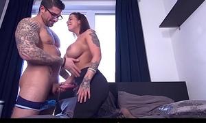 CASTING FRANCAIS - Cute curvy amateur Heidi Forefront Horny first hardcore porn