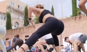 Portuguese yoga milf almost close-fisted leggings instagram therefore