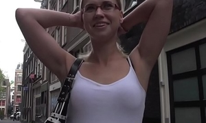 Real prostitute having it away