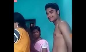 Desi mummy fuck his laddie