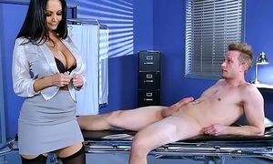 Huge boobs doctor Ava Addams fixes chubby dick problem